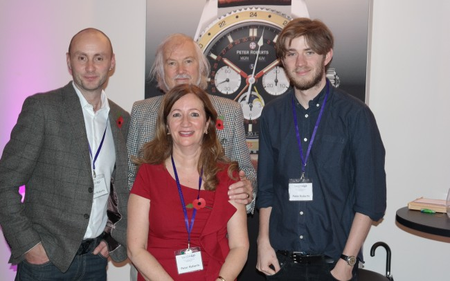 David Brailsford with Peter Roberts at SalonQP