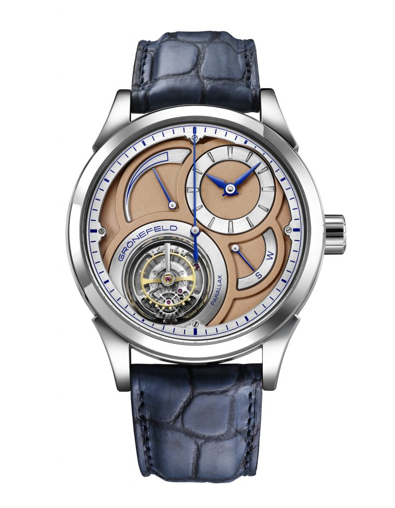 Gronefeld parallax tourbillon watch