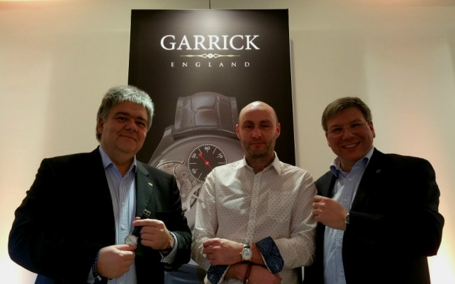 Michael Horlbeck - David Brailsford - Andreas Strehler at SalonQP