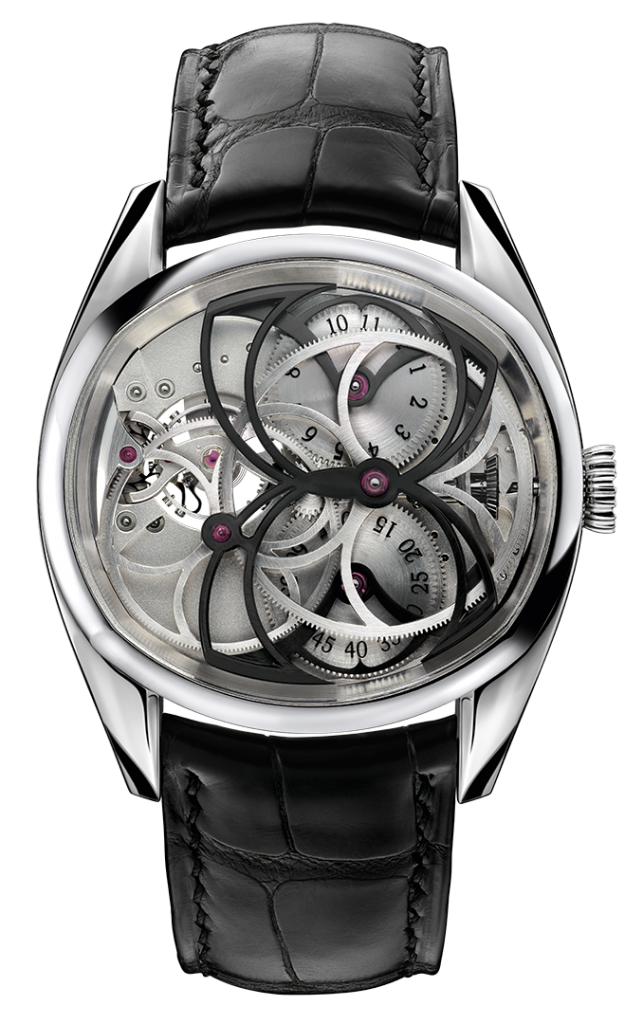 The Papillon watch by Andreas Strehler
