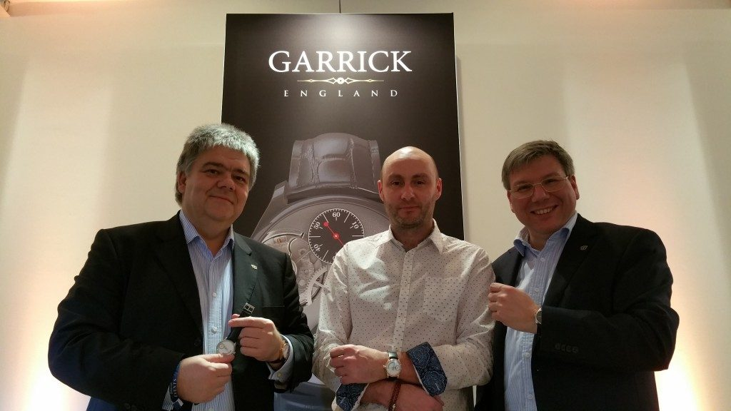 Michael Horlbeck, David Brailsford and Andreas Strehler