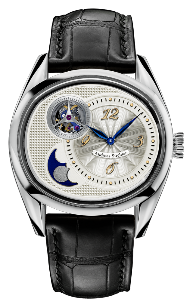 The Sauterelle watch by Andreas Strehler