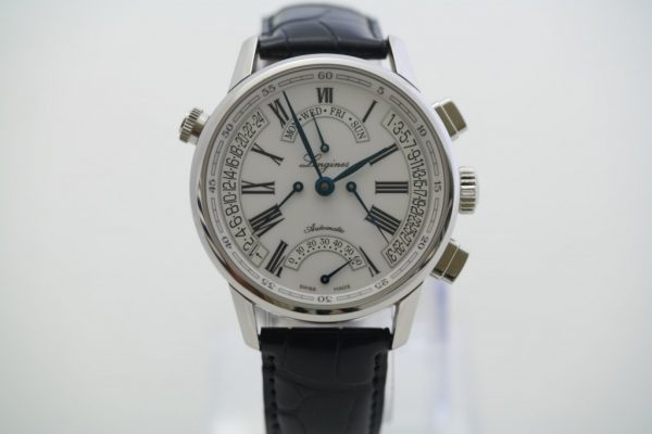 Longines Heritage Retrograde watch
