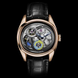 The Lune Exacte watch by Andreas Strehler