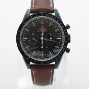 Omega Speedmaster First Omega in Space black DLC