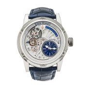 Louis Moinet Deep Blue 20 second Tempograph